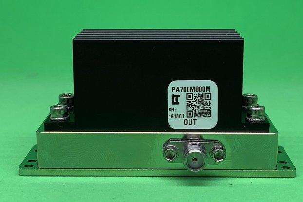 Power Amplifier 4W 700 to 3800 MHz >32dB Gain SMA