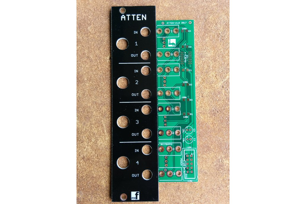 Buffered Attenuator (Eurorack PCB Set) 5