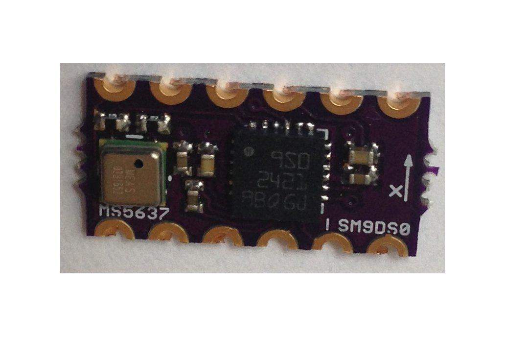 LSM9DS0 Teensy 3.X Micro Shield 2
