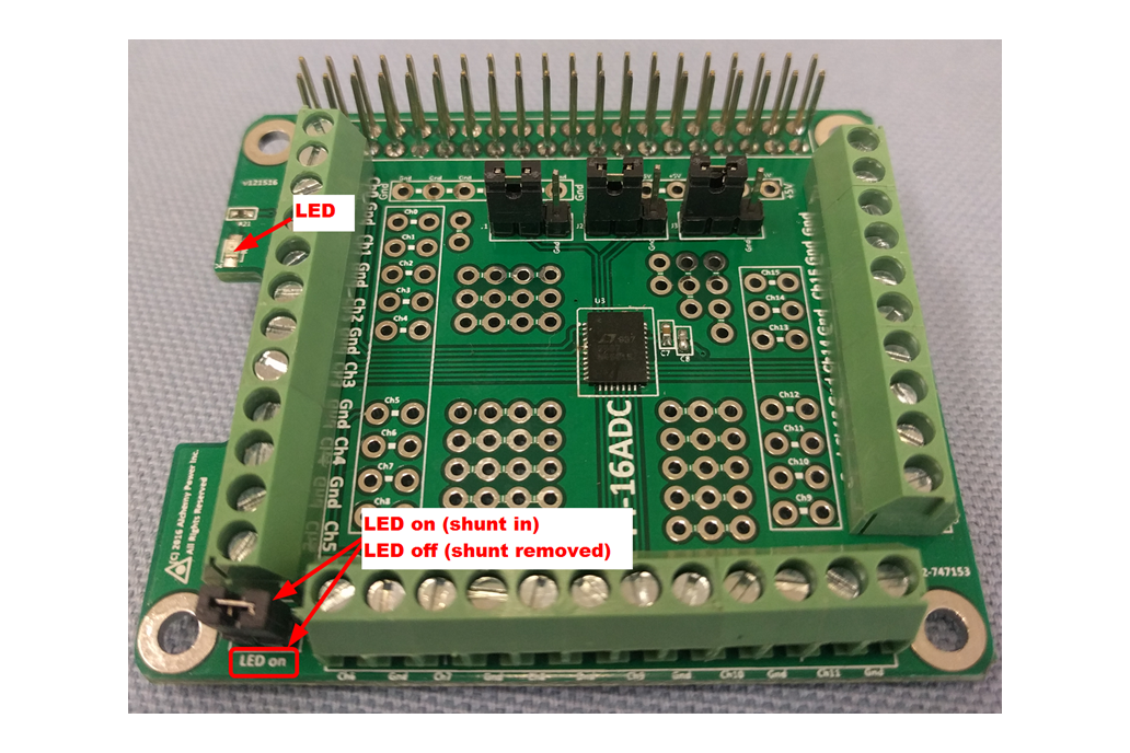 Pi-16ADC - 16 Channel, 16 bit ADC 5