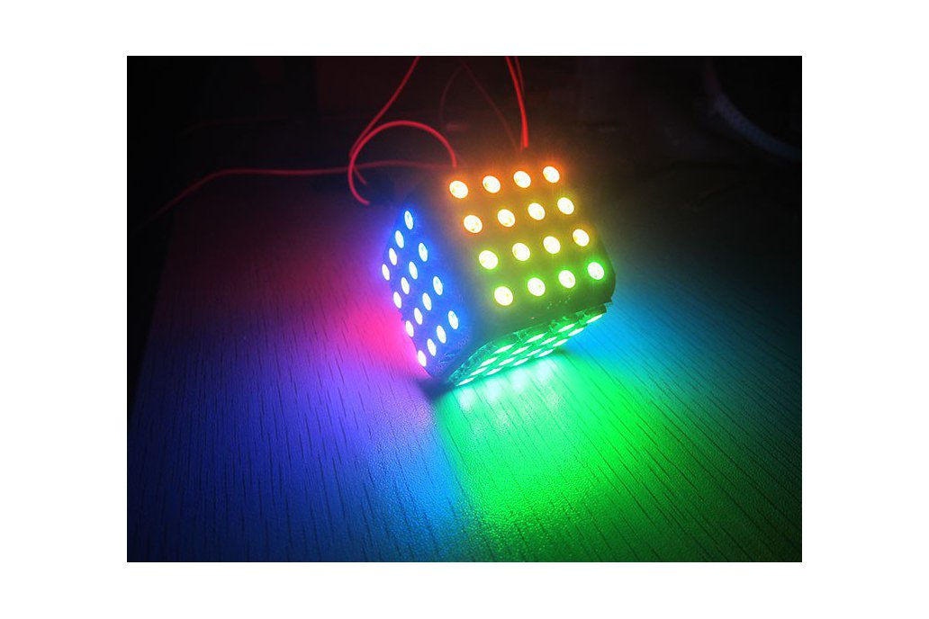WS2812B LED Cube 96 for arduino colorful magic 1
