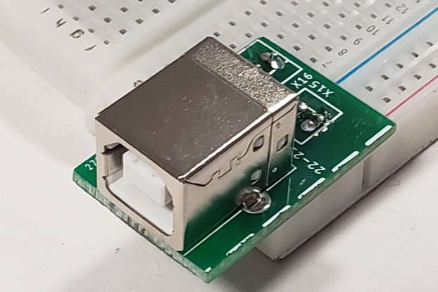 USB to Breadboard Adapter