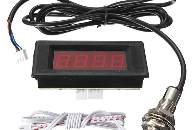 Red LED Tachometer