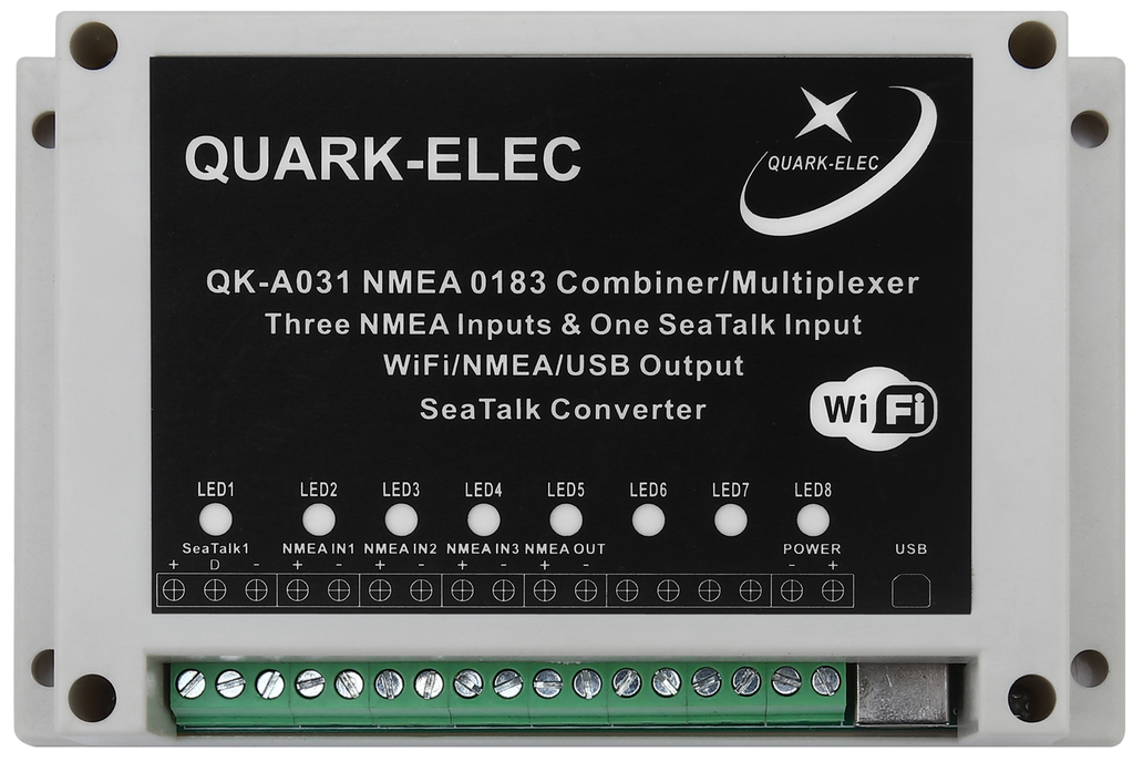 QK-A031 NMEA 0183 Multiplexer with SeaTalk Convert 2