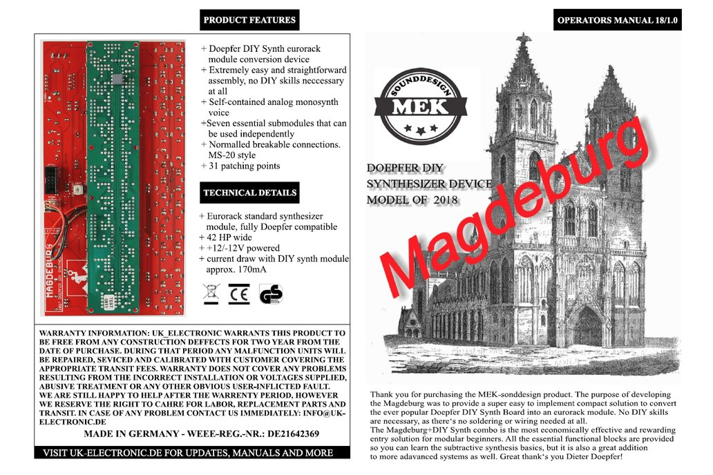 "Doepfer DIY Synth Edition ""Magdeburg"" (Bundle) 4"