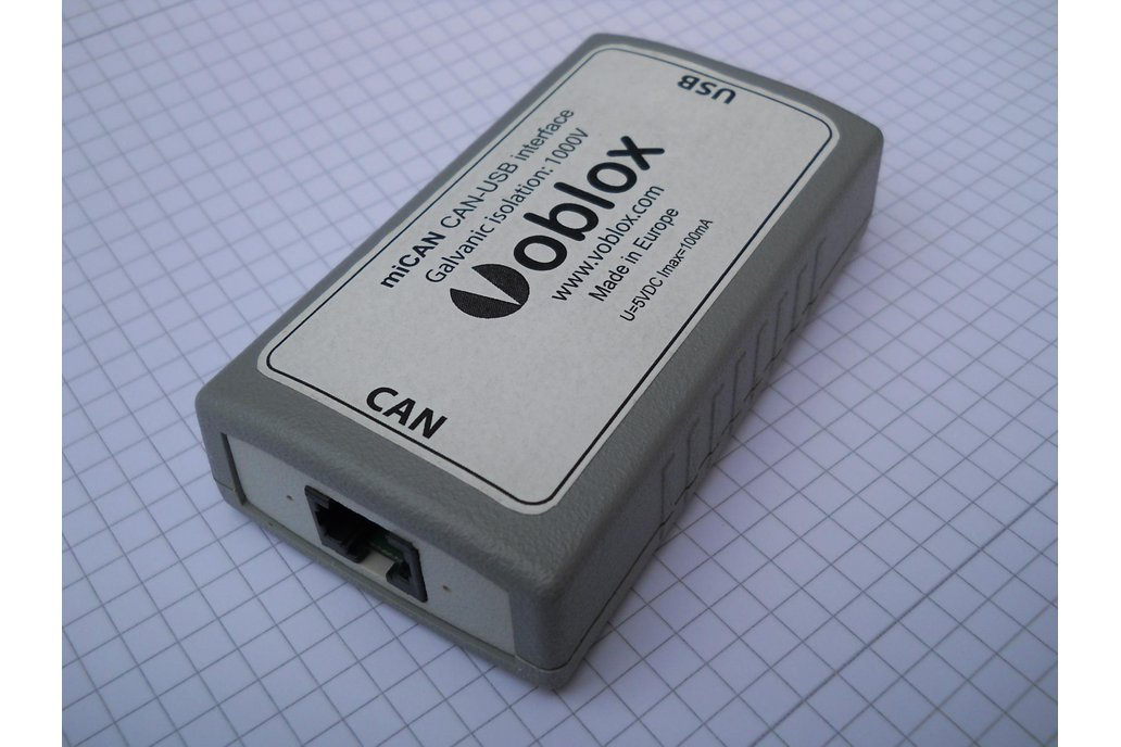 miCAN - Controller Area Network interface 1