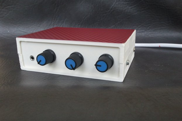 LM386 stereo audio amplifier