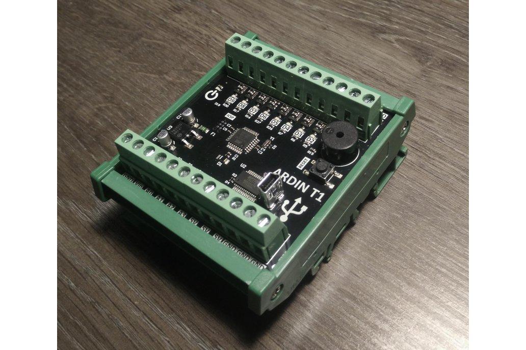 ARDIN - DIN rail mounted Arduino 1
