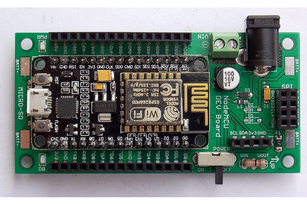 ESP8266 Wireless Dev System - Non-Battery Version 2
