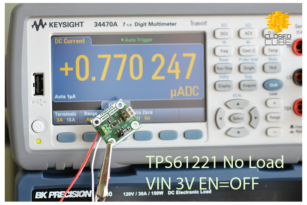 TPS61221 Low Input (from 0.7V) Boost 3.3V Breakout 11