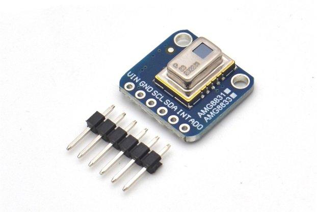 AMG8833 IR Temperature Sensor For Raspberry Pi
