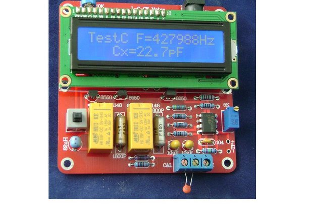 DIY Tester Digital Inductance Capacitance Meterkit