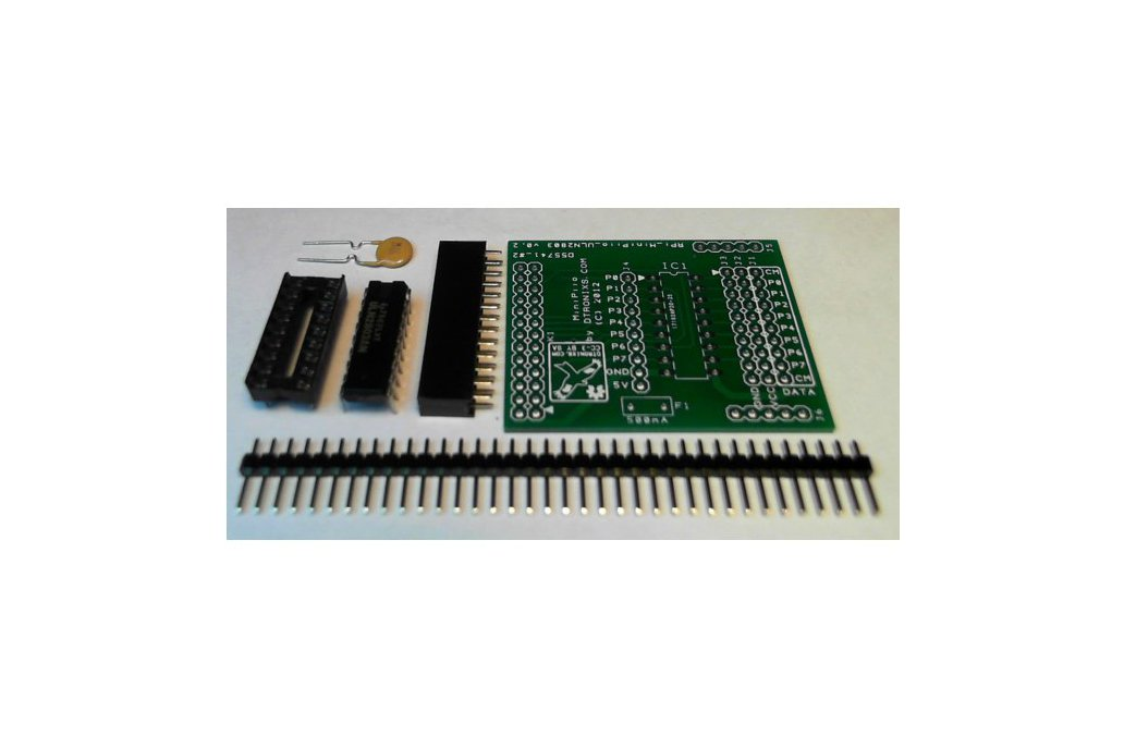 Raspberry PIIO - ULN2803A GVS board (Kit only) 1