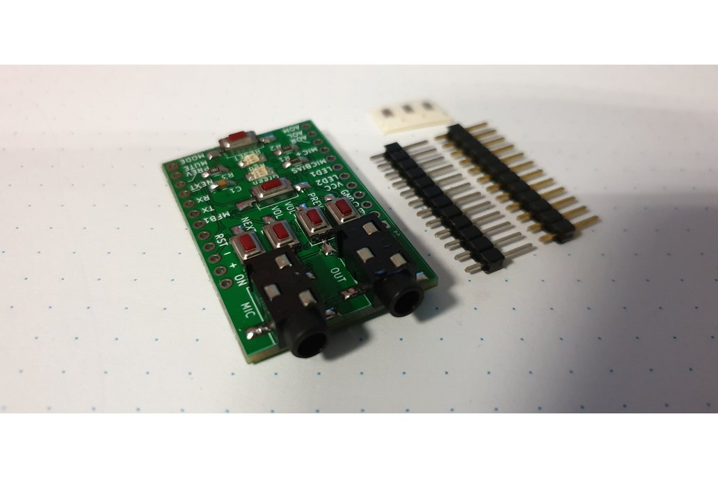 Breadboard adapter for XS3868 1