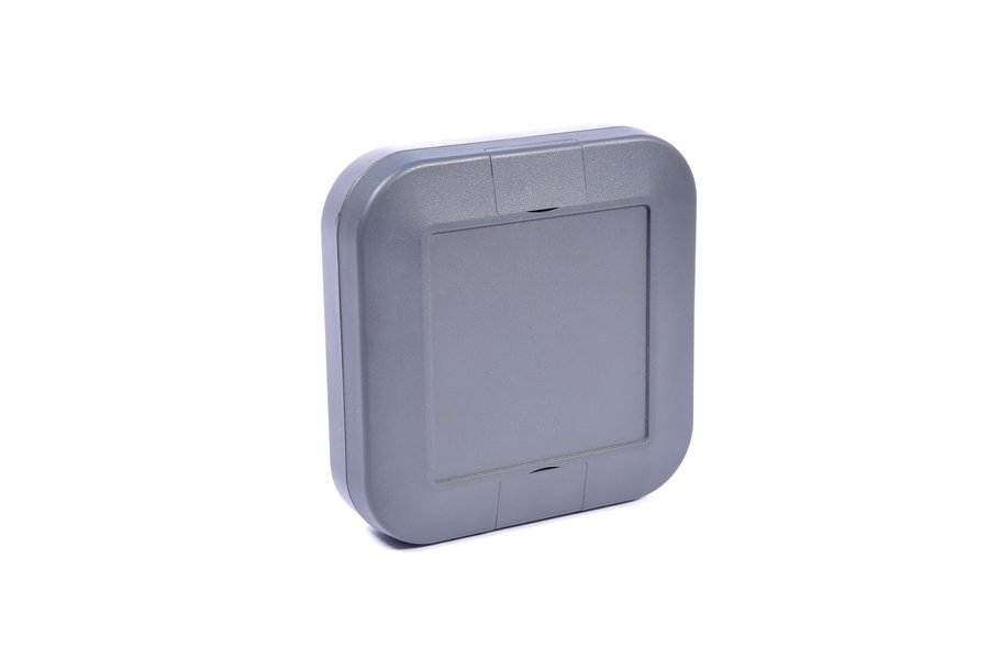 Plastic Enclosure - Charcoal Grey