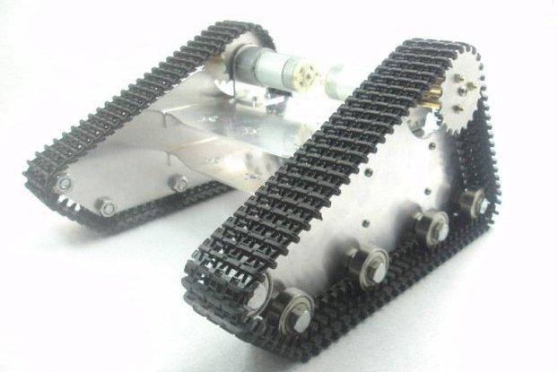 Metal Walee Robot Tank Chassis Kit