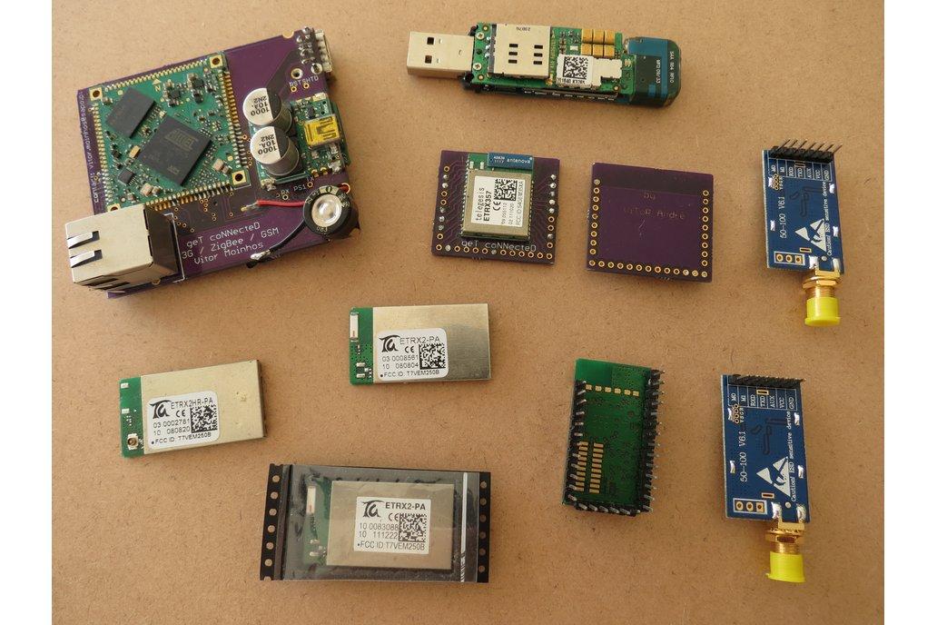ZigBee & ARM linux + 3.5G GSM  WiFi & LORA 1