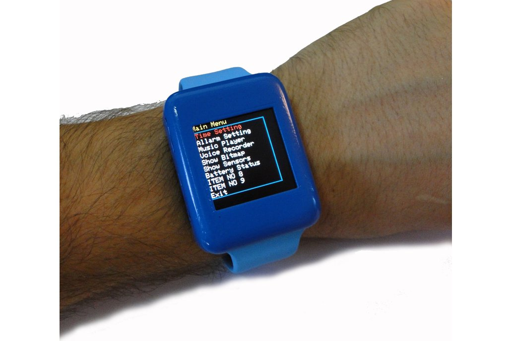 CulBox , Open Source Smart Watch for ARDUINO 9