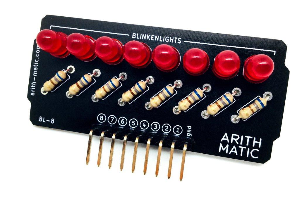 BL-8: 8-bit Blinkenlights Kit 1