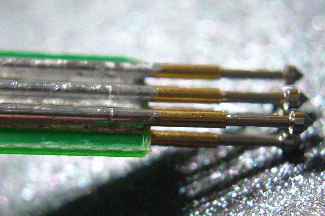 Tiny AVR-ISP pogo-pin programming adapter 7
