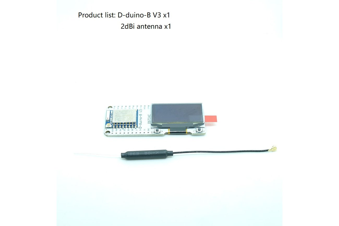WiFi Packet Monitor  V2(Preflashed D-duino-B V3)