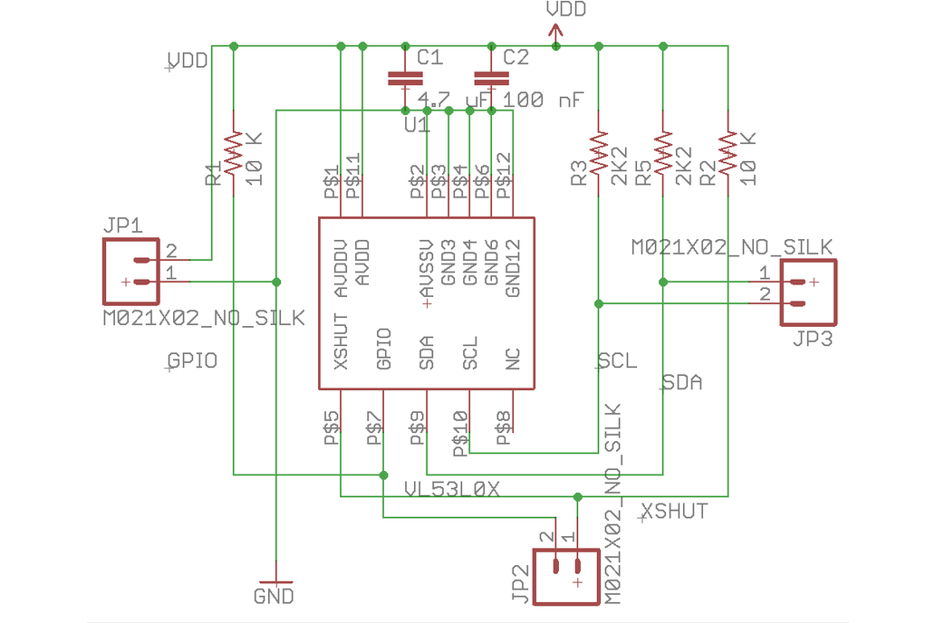 VL53L0X Add-On for Ladybug