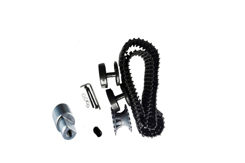 Plastic Wheel Track Coupling Kit for Tank Chassis 1
