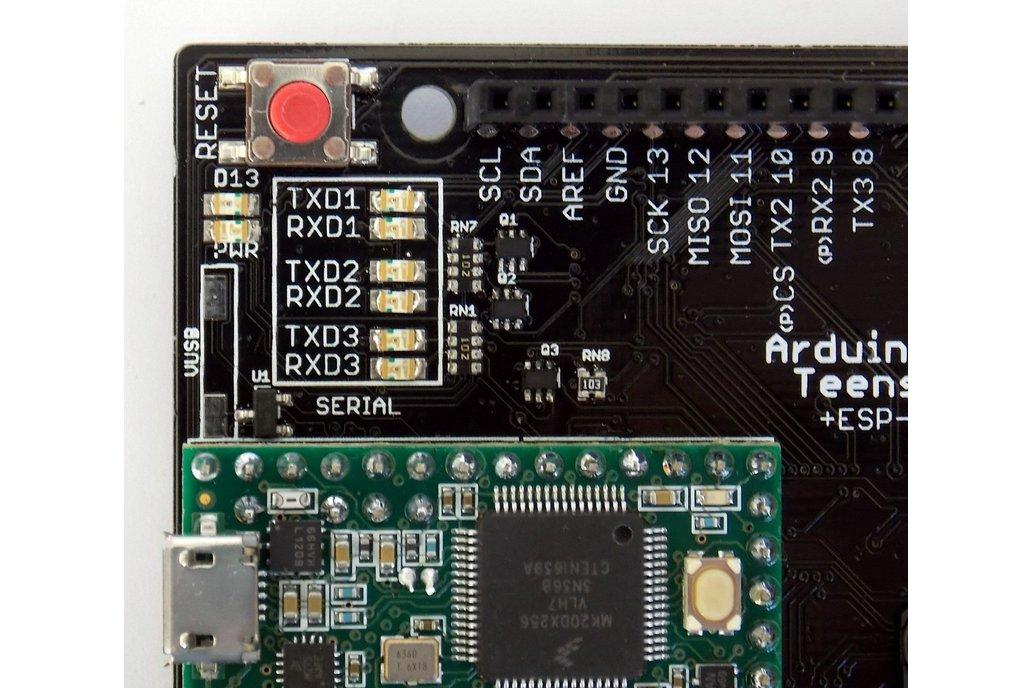 ARDUINO-TEENSY v4.2 with WIFI+BLUETOOTH+NRF24L01 6