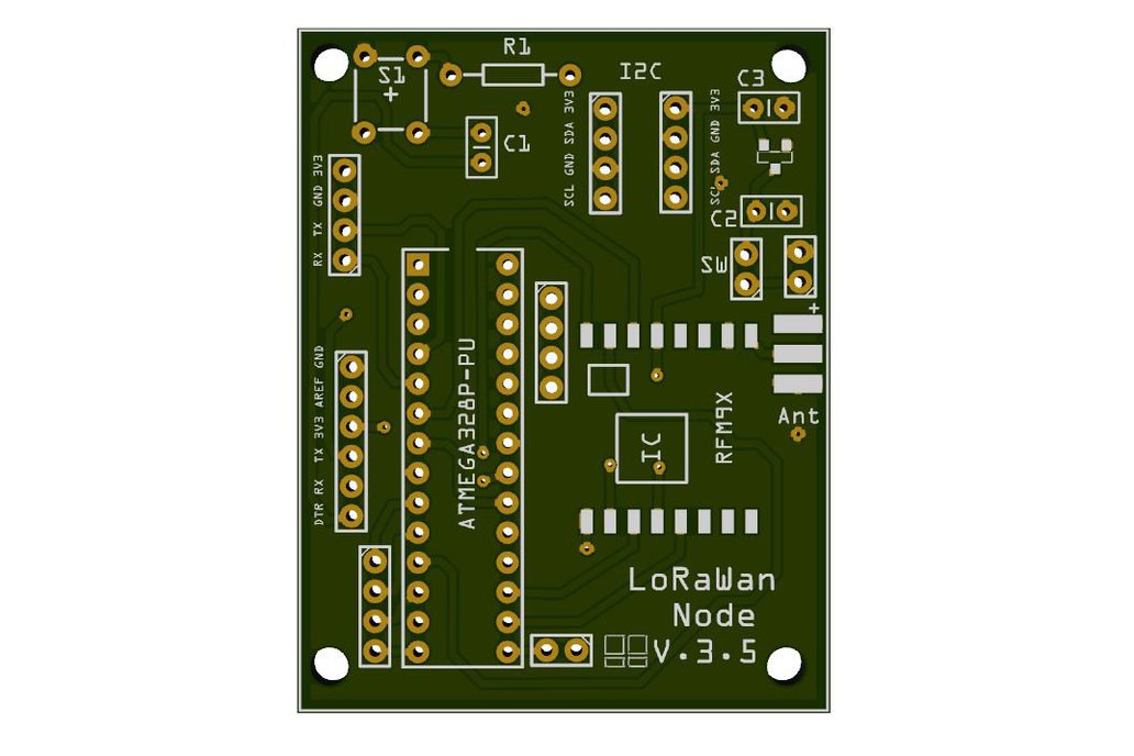 Low power LoRaWan Node Model A328 4