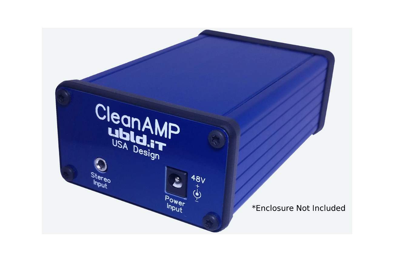 CleanAmp 2 Stereo Amplifier Kit