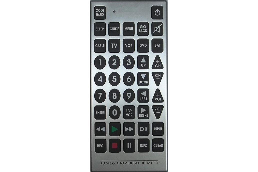 Programmable Jumbo Remote Control with Atmega328PB 1