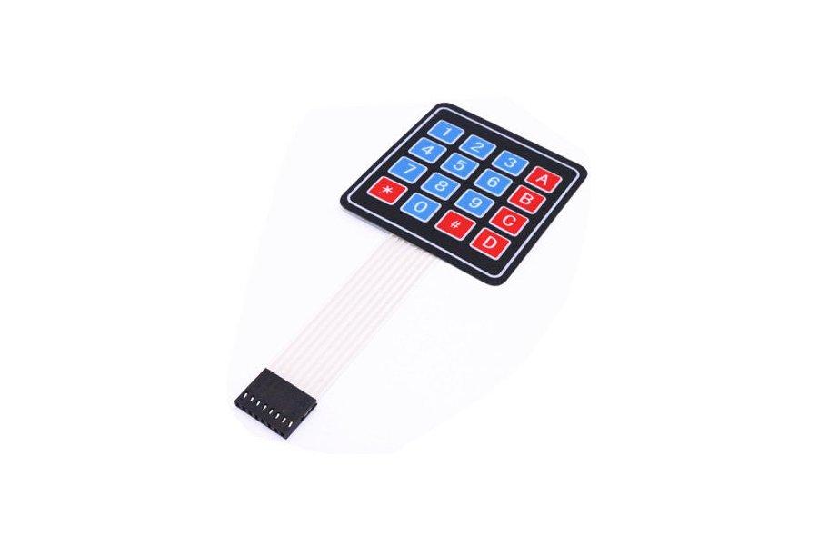 4*4 Matrix Array 16 Key Membrane Switch Keypad