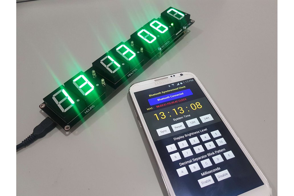Digital SSD Bluetooth Clock Kit. 1