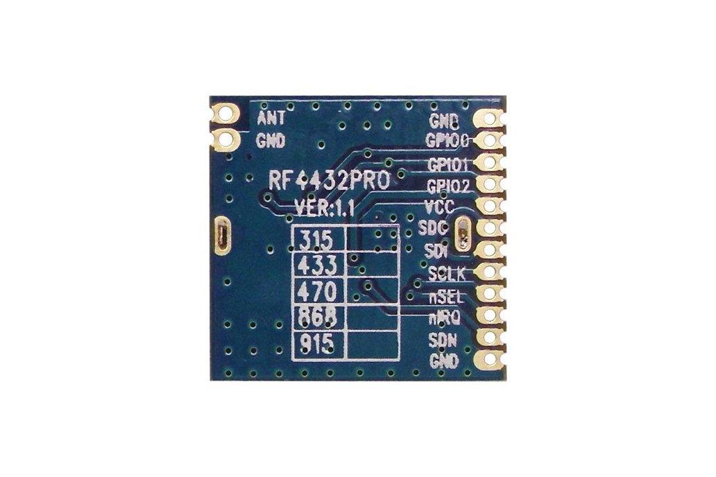 RF4432PRO-Si4432 wireless transceiver module 1