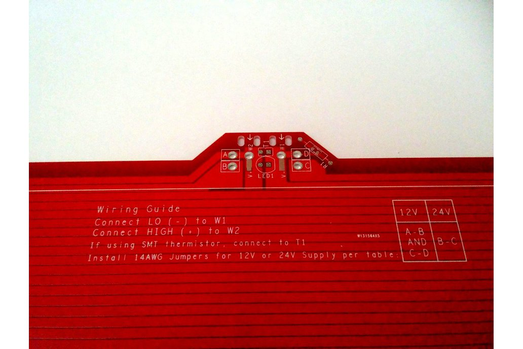 PCB Heatbed for 3D printers 200 x 300mm 4