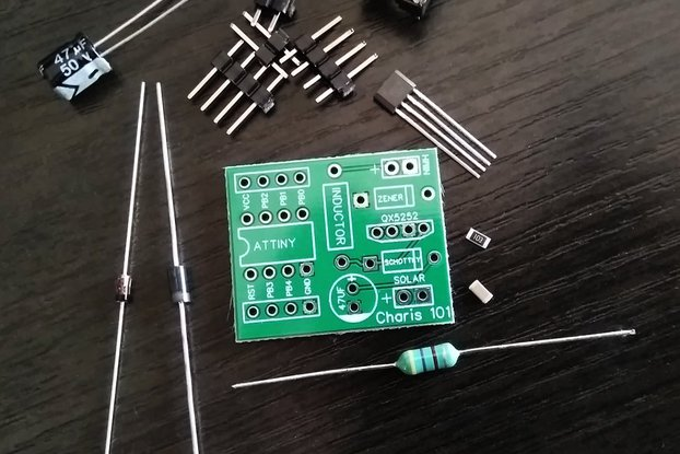 Stable Joule Thief PCB kit build