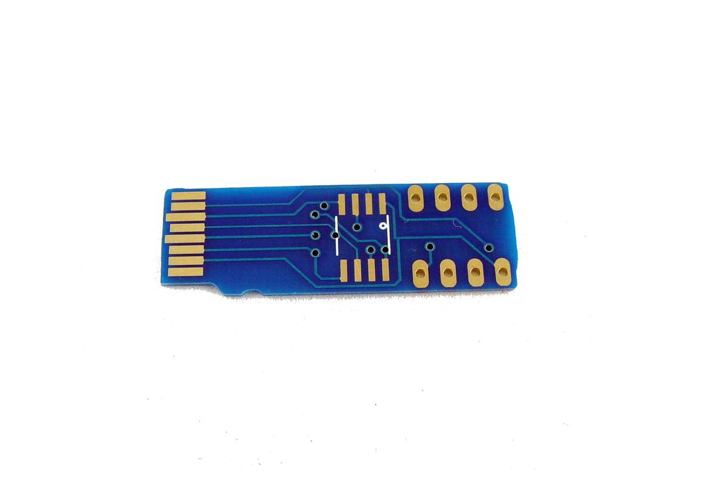 micro SD card to SPI flash adapter 1