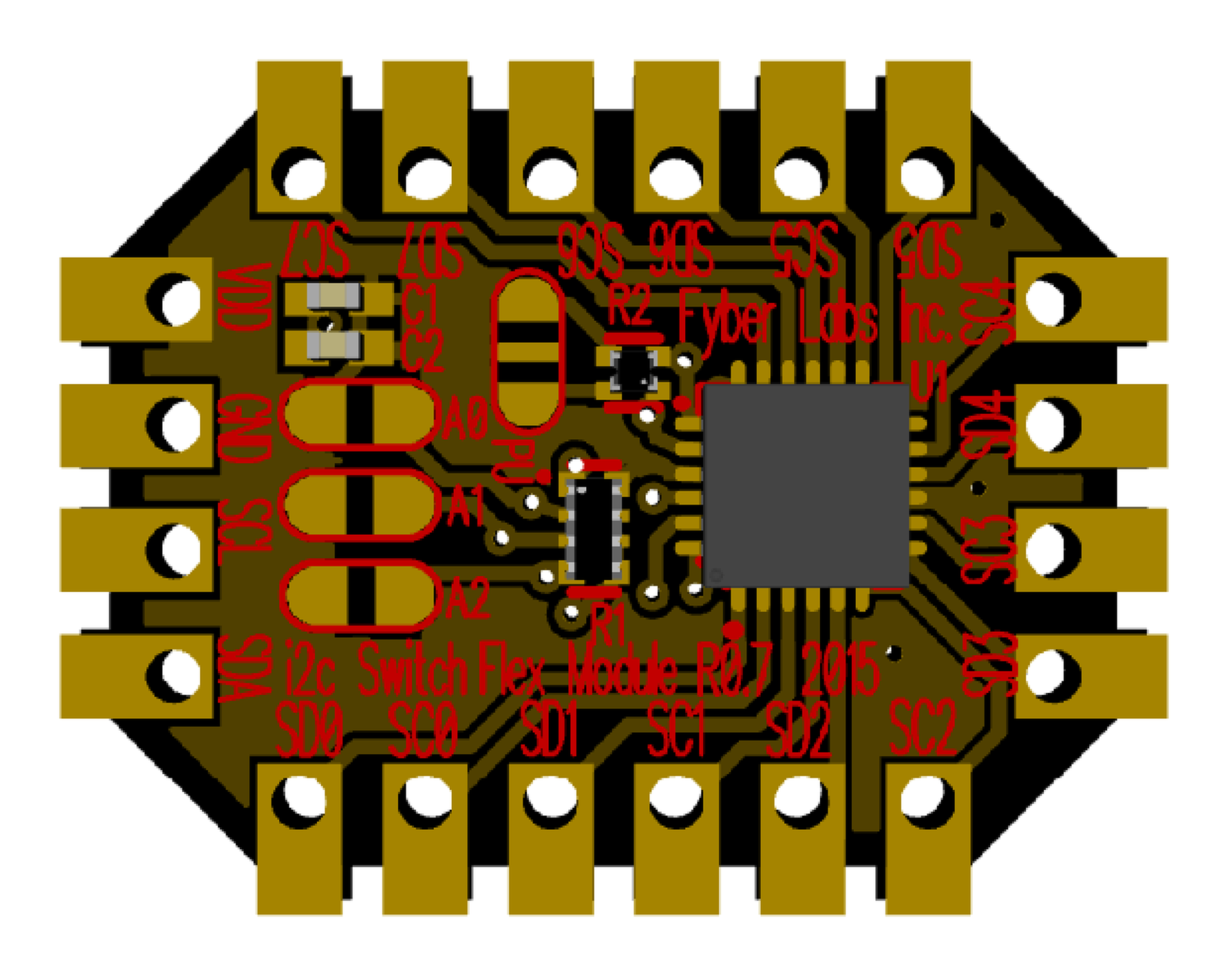 I2c Switch Flex Module From Fyber Labs Inc On Tindie