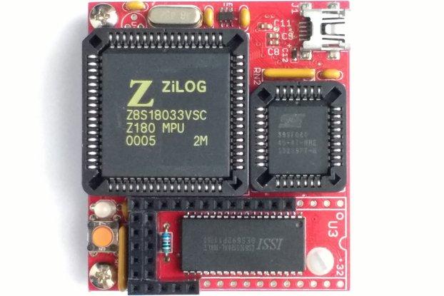 MinZ-U - Z180 System at 33 or 36 MHz with 512 KB