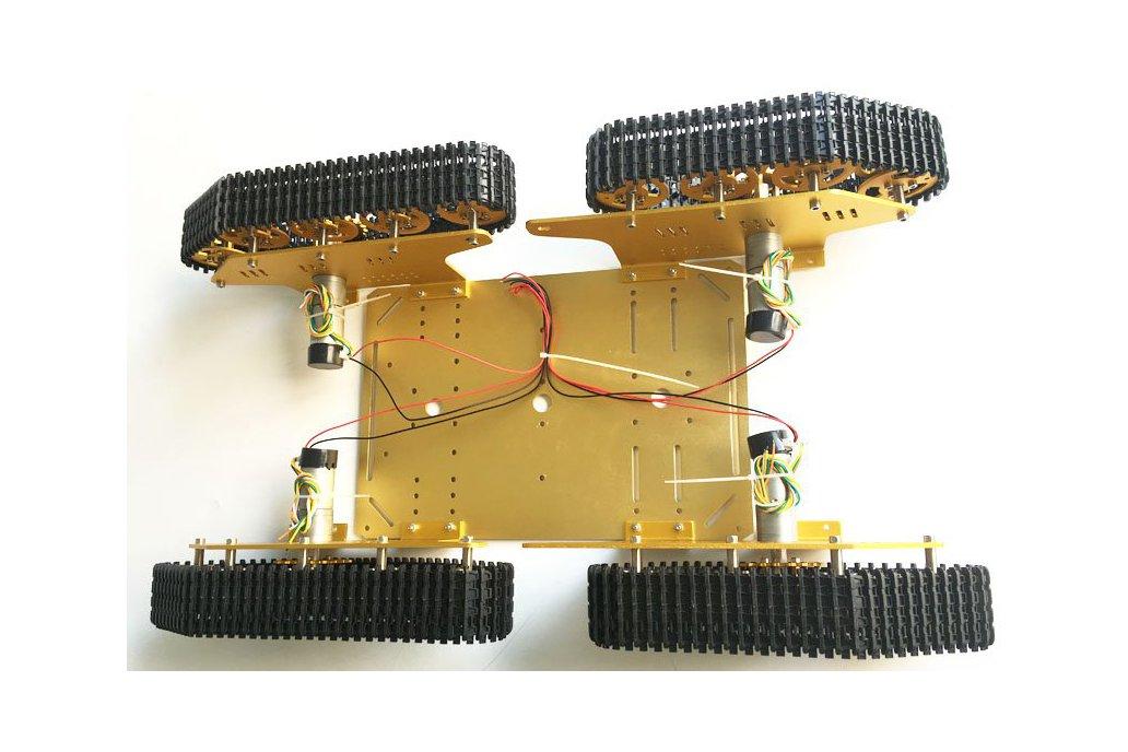 4WD Metal robot Wall-E Tank Track 1