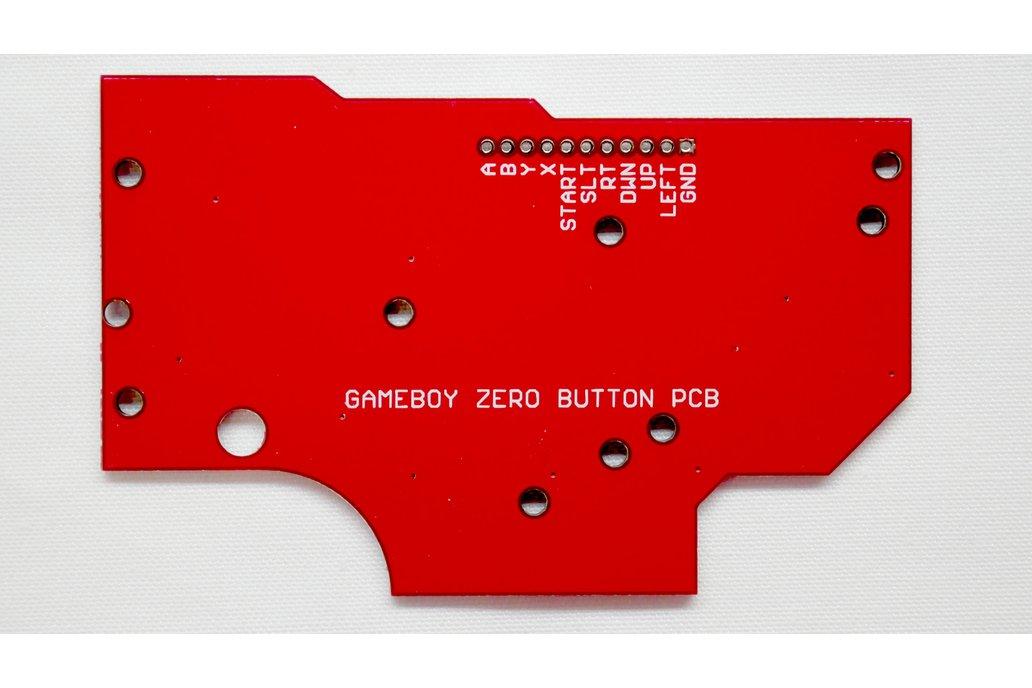 Game Boy DMG Button PCB Gold Zero Pi RetroPie 2