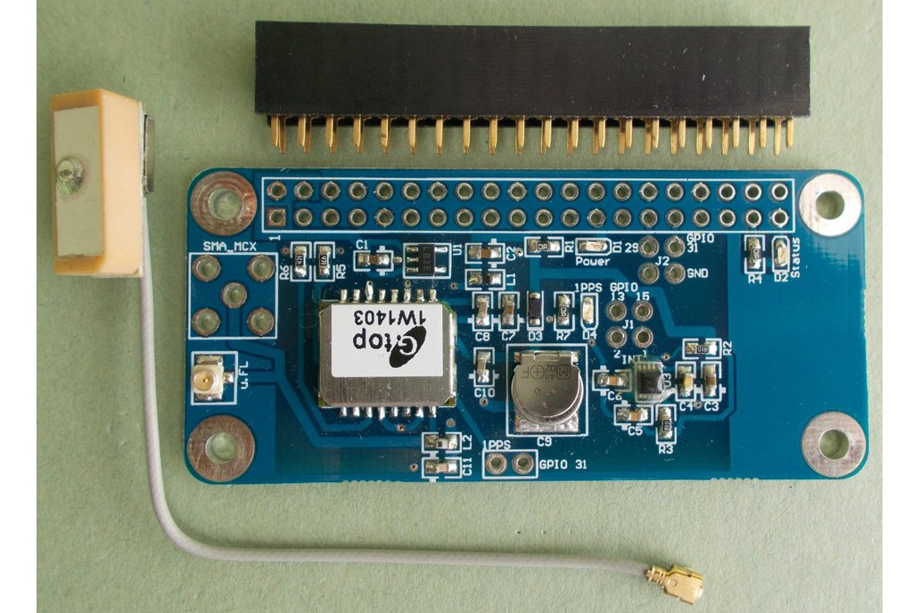 GMM GPS module with MMA8652FC accelerometer 1