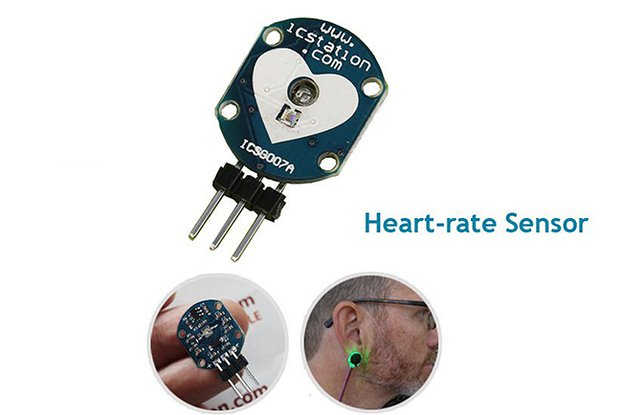 Pulse Heart-rate Sensor Module for Arduino(3554)