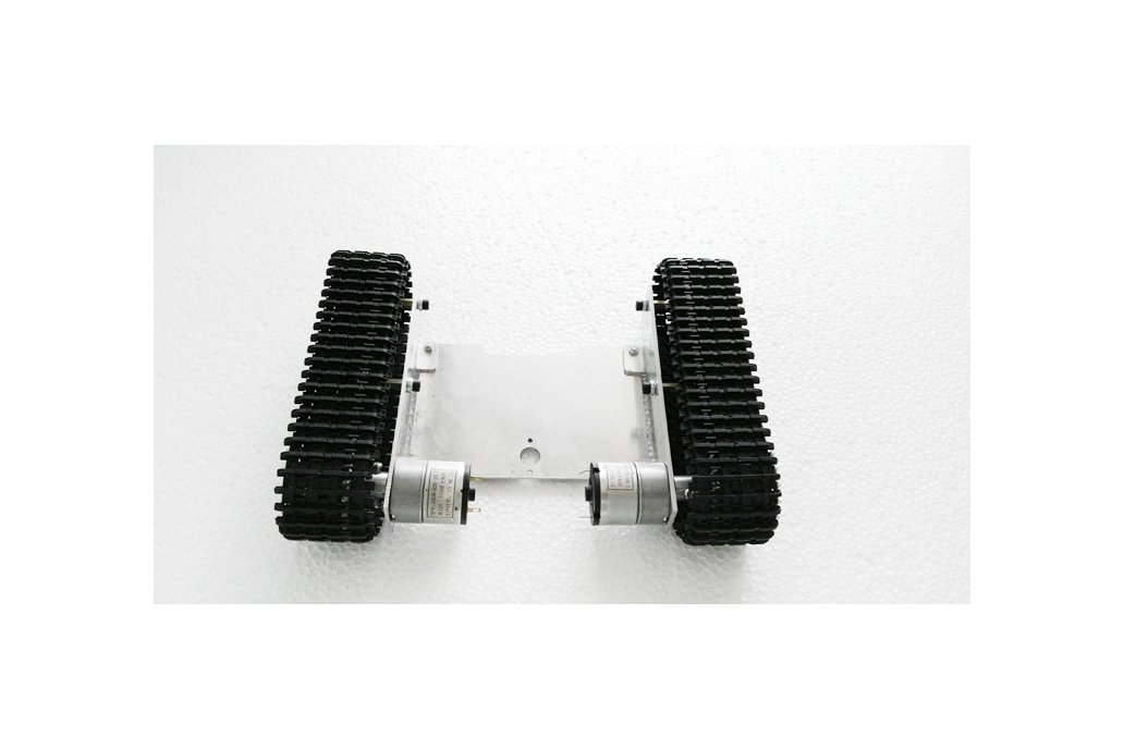 Metal robot tank chassis 4