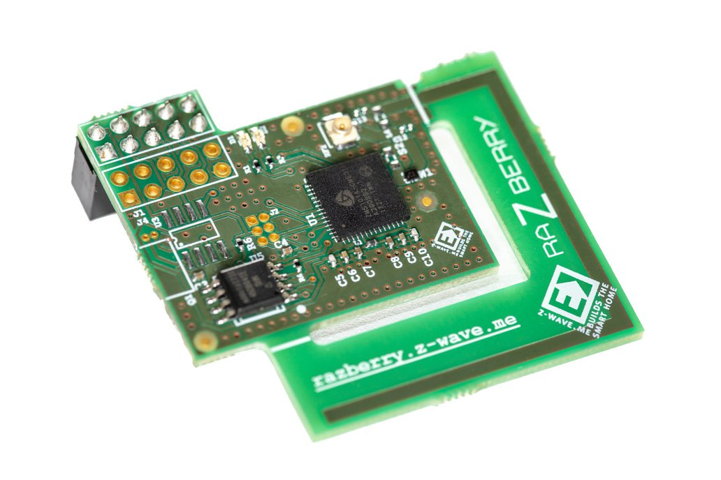 RaZberry - Z-Wave shield for Raspberry Pi 1