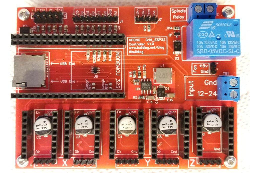 Grbl_ESP32 MPCNC CNC Controller Ver 1 2