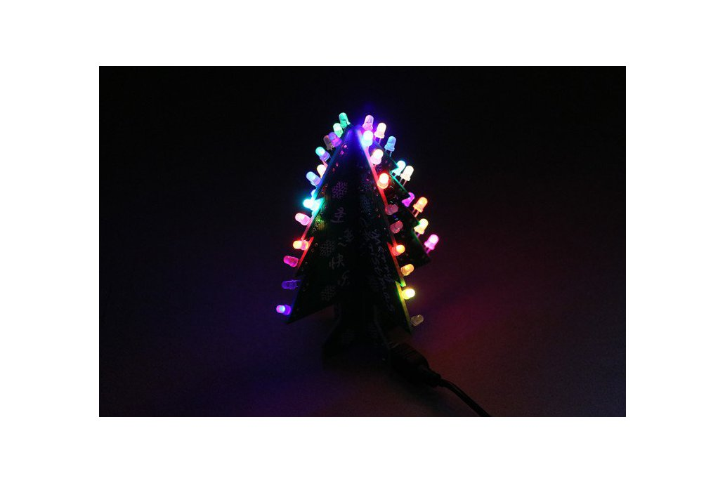 DIY Flashing and music Christmas Tree Circuit Kit 1
