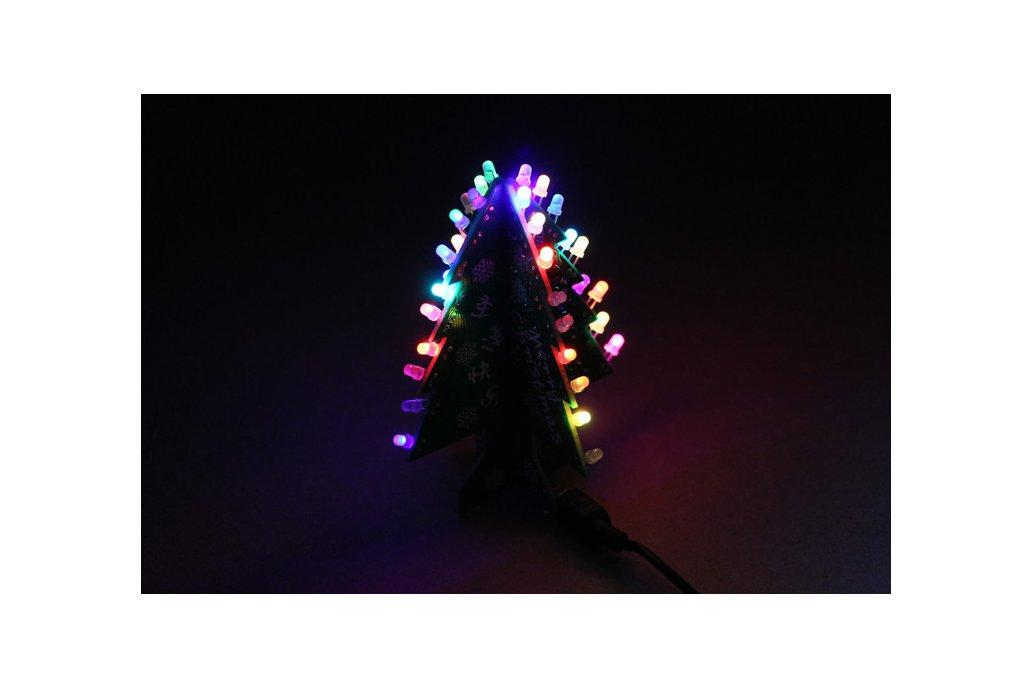 DIY Flashing and music Christmas Tree Circuit Kit 1
