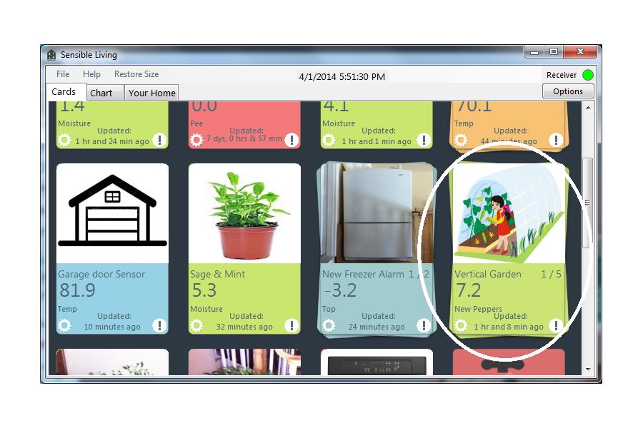 Wireless Indoor Garden monitor