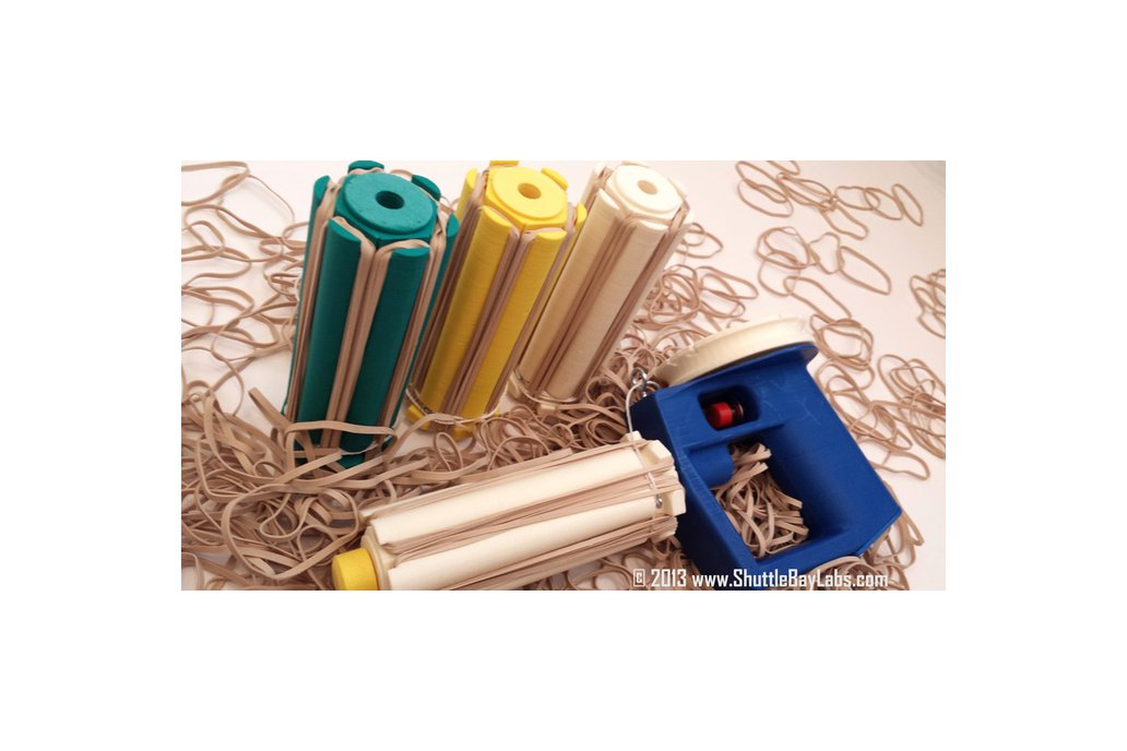 Automatic Rubber Band Blaster Kit 3